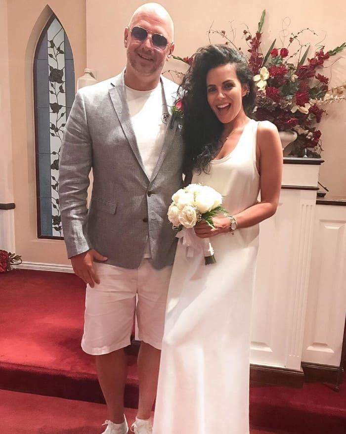 Свадьба в Лас Вегасе, фото Насти Каменских уже прошло три года
