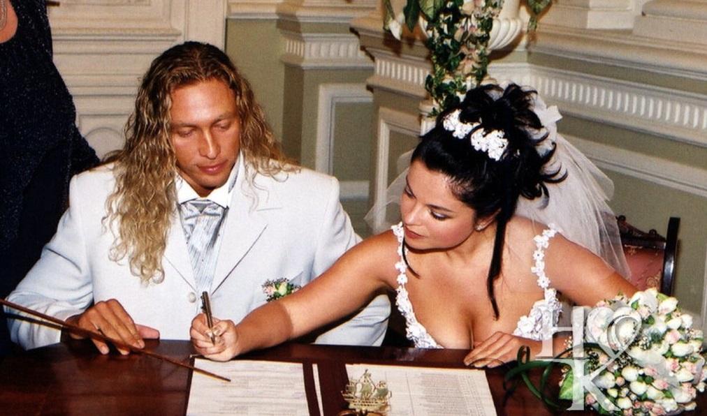 Архивное и уникальное видео со свадьбы Тарзана и Наташы Королевой